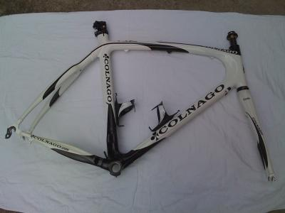2009 Colnago CLX 57 sloping plus extras.