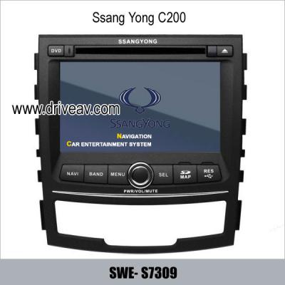 SsangYong C200 stereo radio auto dvd player gps